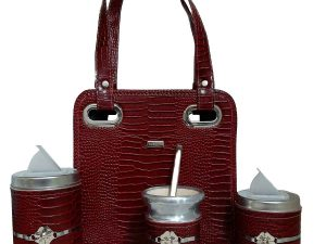 Set matero con mini cartera bordo
