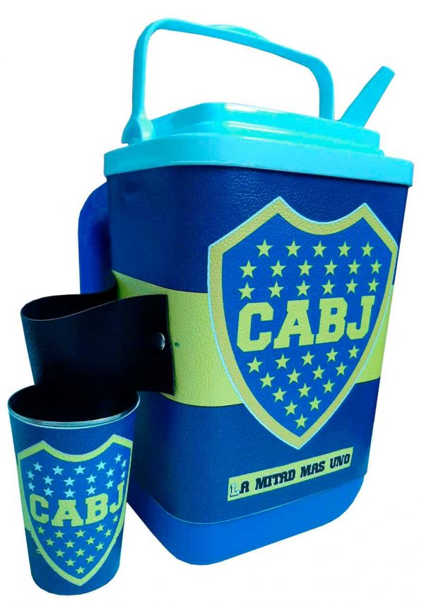 Set de terere con diseño de Club Boca Juniors
